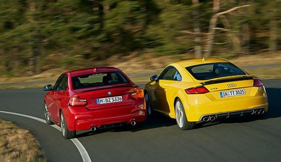 Лучшие в свое классе Audi TTS и BMW M235i