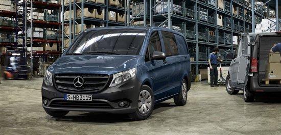 Тест-драйв Mercedes-Benz Vito (Мерседес Вито) в России