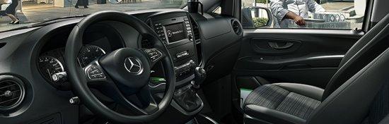 Салон Mercedes-Benz Vito