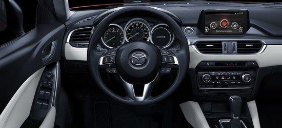 Водительское место Mazda 6 2016