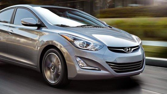 Автомобиль Hyundai Elantra 2016