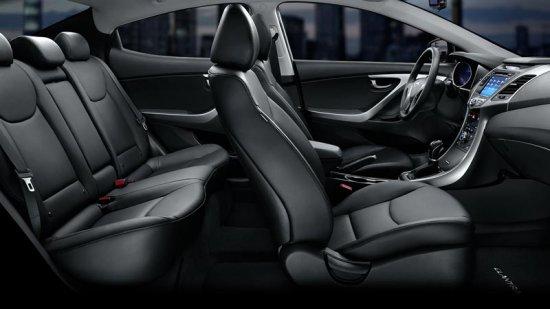 Салон Hyundai Elantra 2016