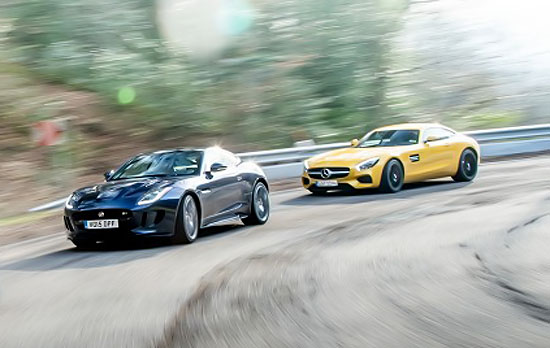 Jaguar F-Type R vs. Mercedes-AMG GT S