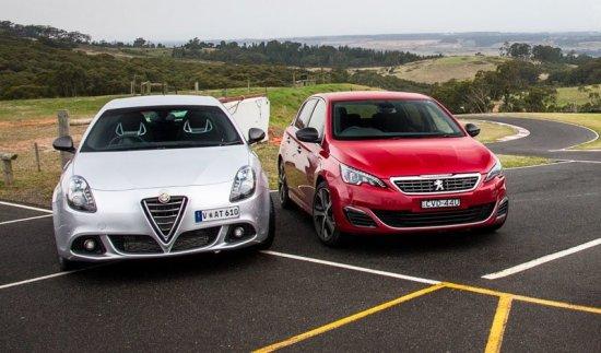 Сравнительный обзор и тест-драв Alfa Romeo Giulietta и Peugeot 308
