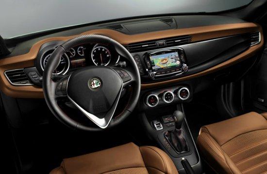 Салон Alfa Romeo Giulietta