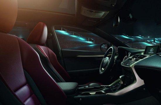 Салон Lexus NX 300h