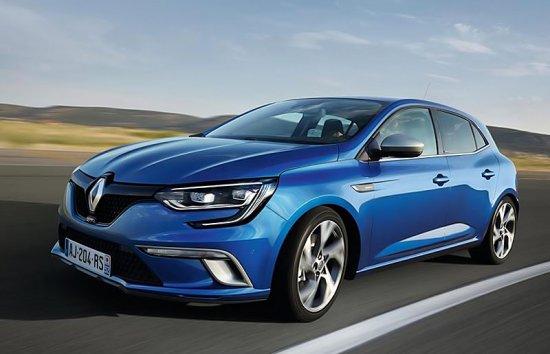 Renault Megane (Рено Меган) 2016 Цена, Комплектации и Фото