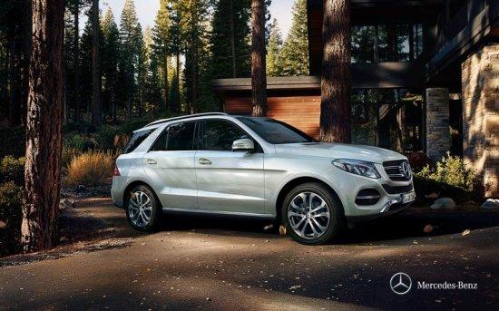 Внедорожник Mercedes-Benz GLE