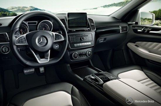 Салон Mercedes-Benz GLE