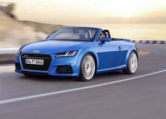 Audi TT (Ауди ТТ) 2016 Фото, Цена и Технические характеристики