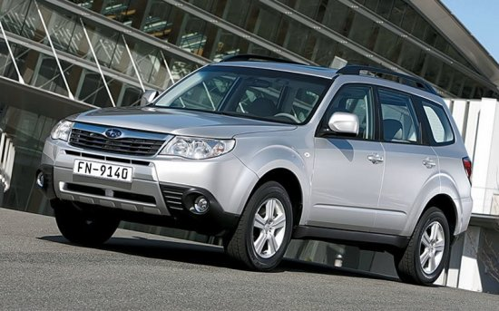 Subaru Forester с пробегом 2008-2012 года