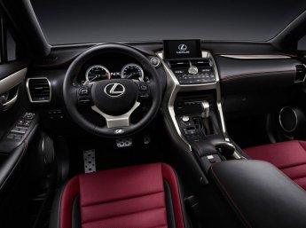 Салон Lexus NX 200t