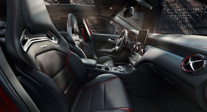 Салон Mercedes-AMG А 45