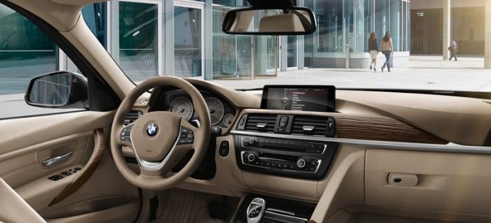 Салон BMW 320