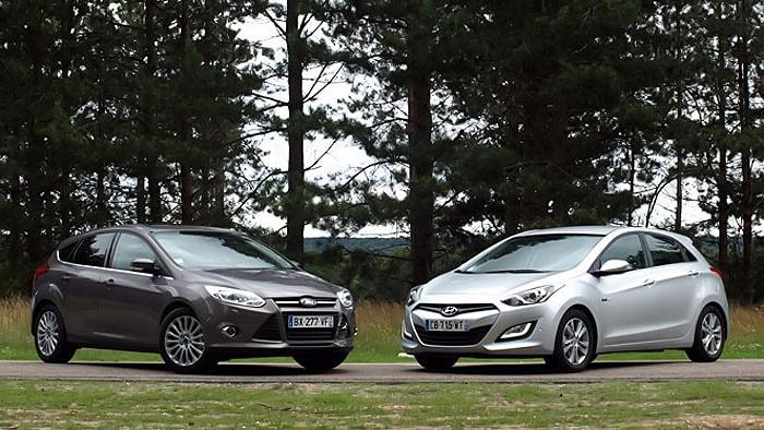 Сравнительный обзор Ford Focus и Hyundai i30