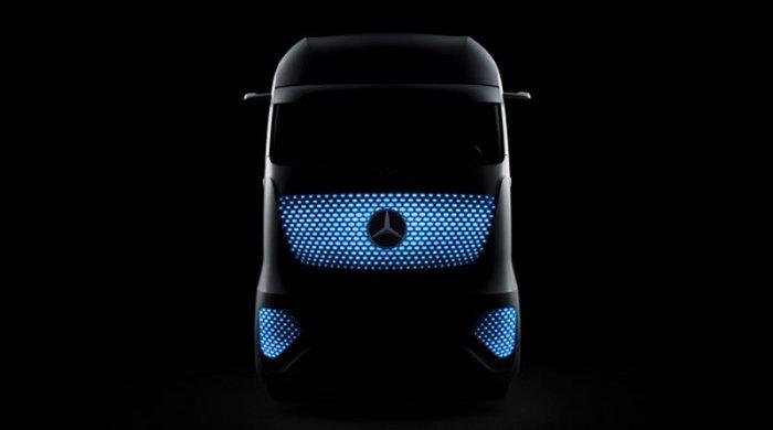 Новый грузовик от Mercedes-Benz