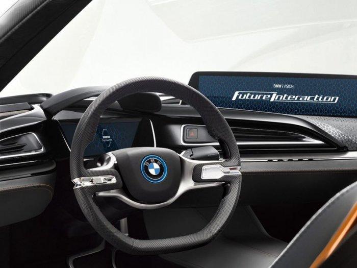 Панель управления BMW iVision
