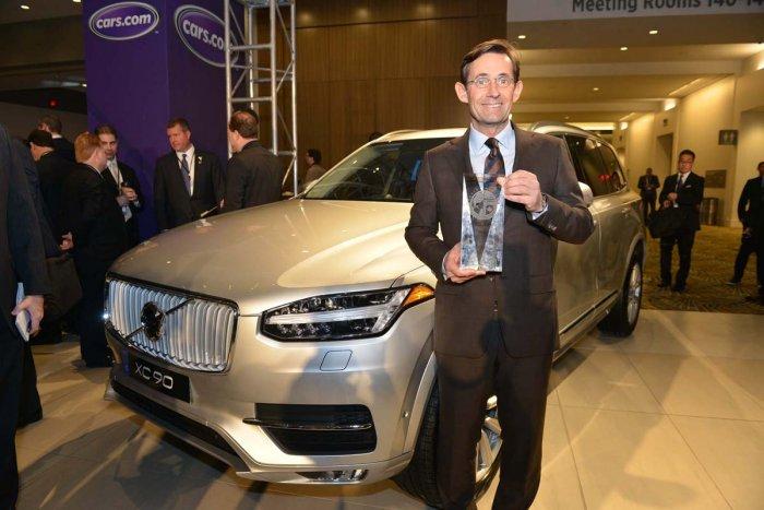 Volvo XC90 внедорожник года в Северной Америке