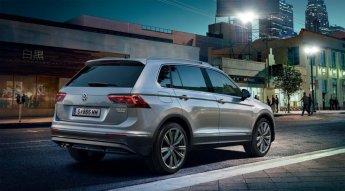 Обновленный Volkswagen Tiguan 2016