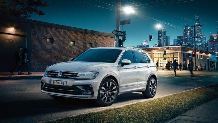 Второе поколение Volkswagen Tiguan доступно в Германии