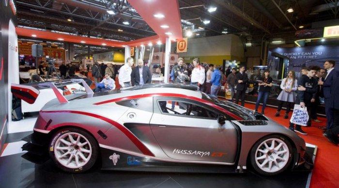 Польский суперкар Arrinera Hussarya GT представлен в Бирмингеме