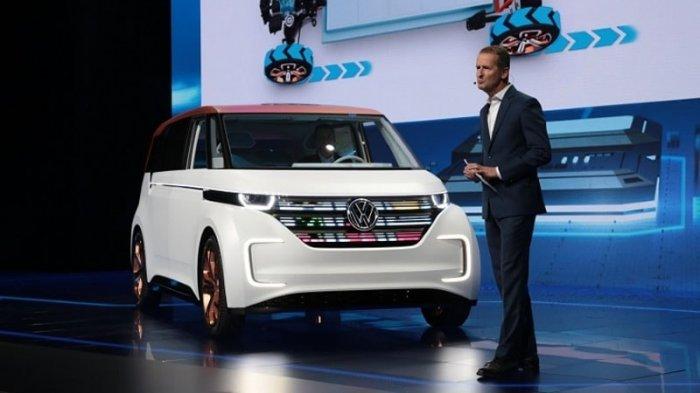 Электрический концепт микроавтобуса Volkswagen BUDD-e