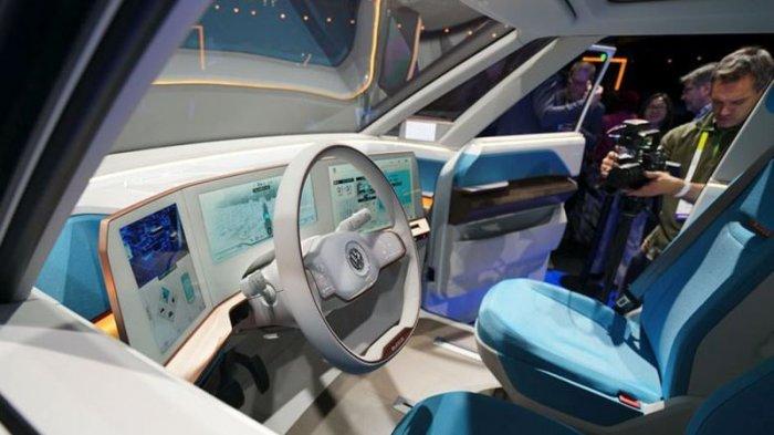 Салон Volkswagen Budd-e