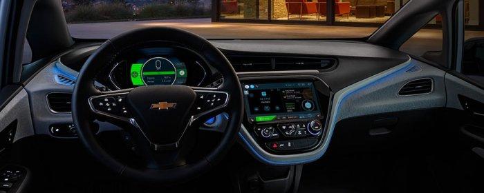 Центральная панель Chevrolet Bolt EV 2017