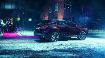 Четвертое поколение Lexus RX 2016