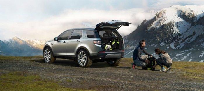 Просторный багажник Discovery Sport