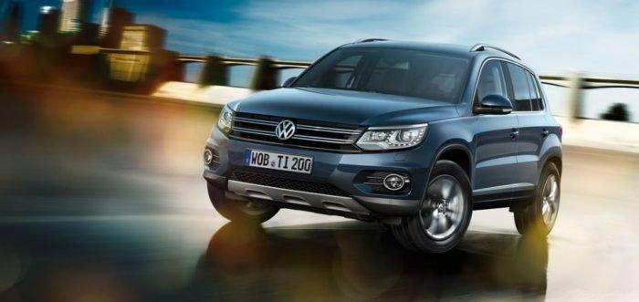 Цены на Volkswagen Tiguan 2015 модельного года