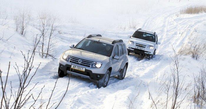 Сравнительный тест-драйв Chevrolet NIVA и Renault Duster