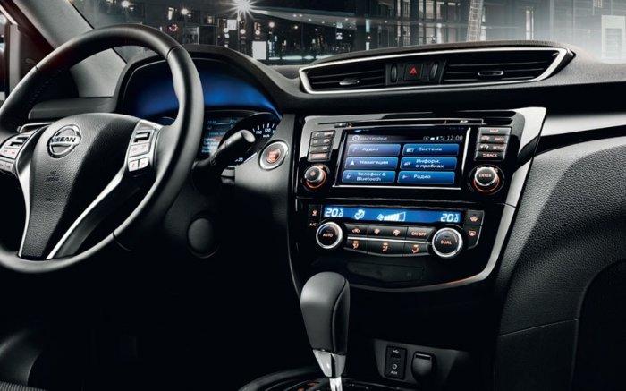 Мультимедийная система Nissan Qashqai