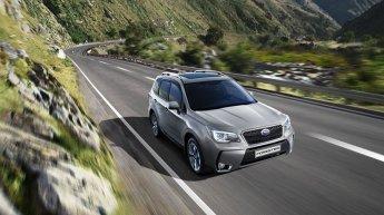 Обновленный Subaru Forester 2016