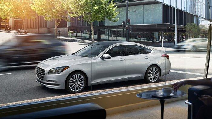 Hyundai Genesis может получить электродвигатель