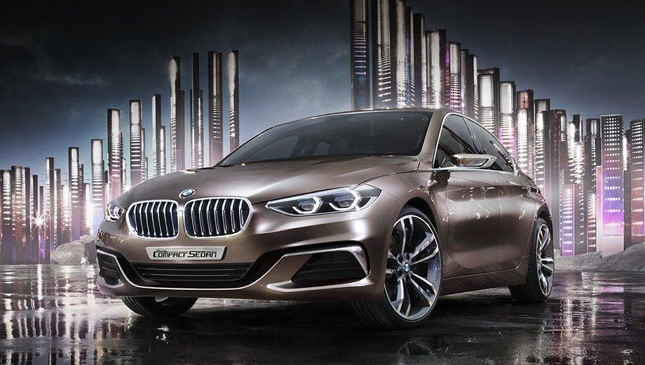 BMW Compact Sedan1-Series (F52) 2016-2017