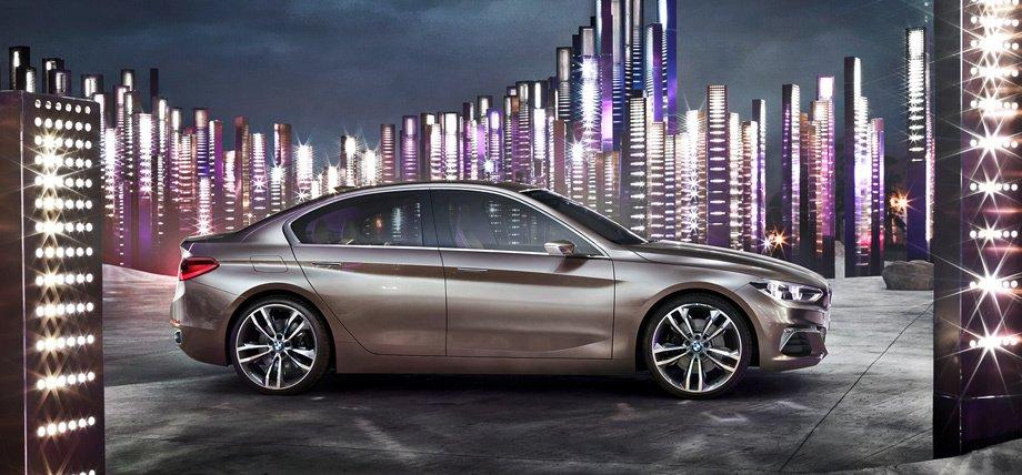 Концепт BMW Compact Sedan1-Series (F52) 2016-2017