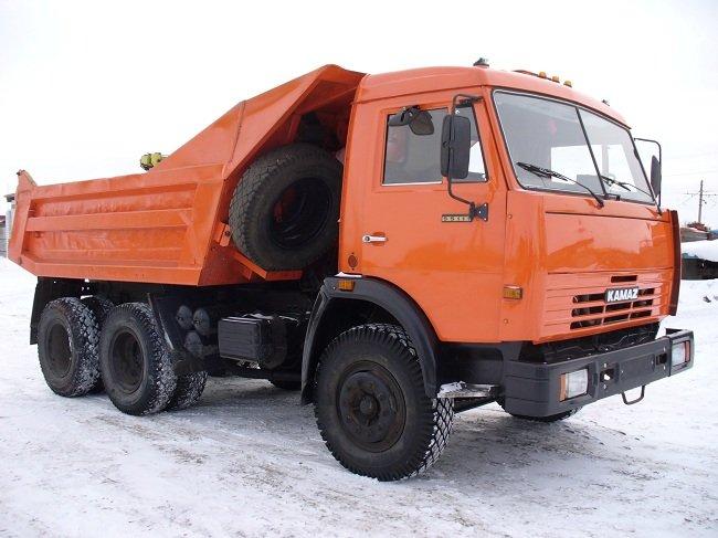 Народный любимчик - Камаз 55111