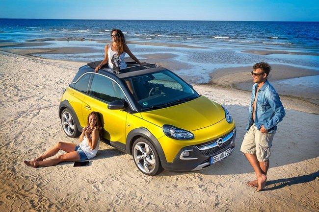 Мини-кроссовер Opel Adam Rocks. Автомобиль для истинных оригиналов
