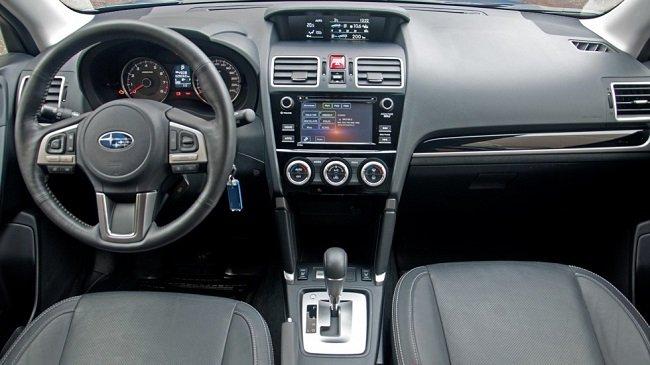 Тест-драйв Subaru Forester SJ