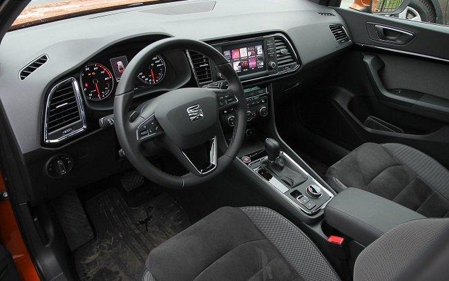 Тест-драйв нового кроссовера SEAT Ateca