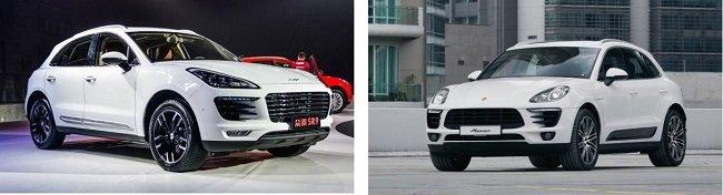 Новые китайские копии известных автомобилей