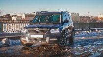Тест-драйв Skoda Yeti Hockey Edition