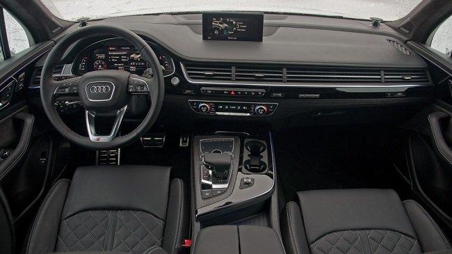 Тест-драйв Audi Q7