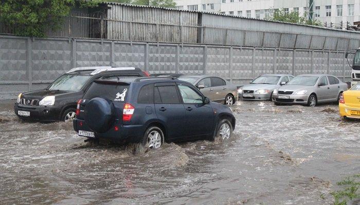 Что делать, если автомобиль затопило