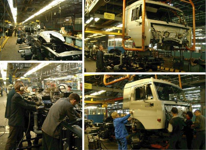 История Камского автомобильного завода (КАМАЗ)