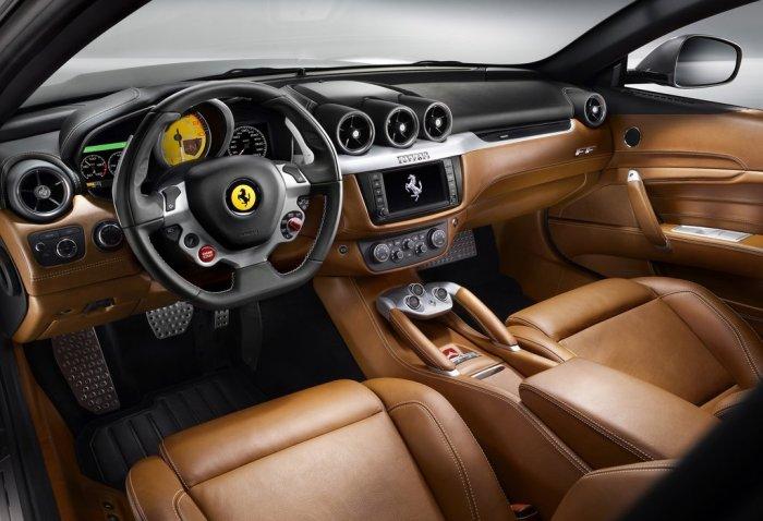Новая Ferrari FF