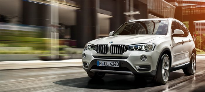 BMW X3: мал, да удал