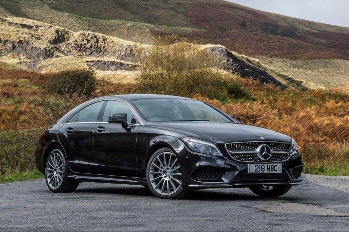Свежая новинка Mercedes CLS