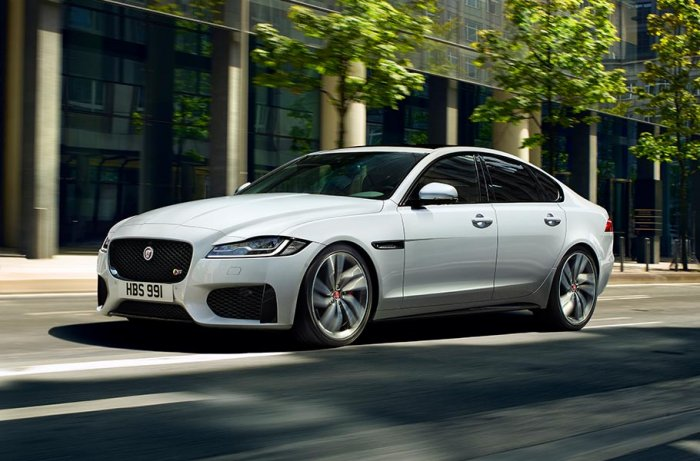 Новое поколение седана Jaguar XF
